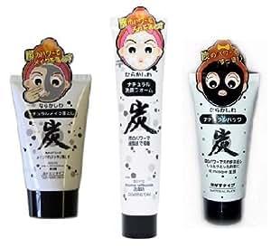 Profi Set - Black Peel Off Maske + Cleansing Cream + Cleansing Foam - Anti-Pickel Gesichtsmaske - Pickel Mitesser Killer - Weltneuheit - Top Qualität von Baviphat®