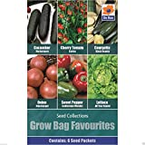Portal Cool De Ree Seeds - Growbag Favoriten Zwiebel Tomate Pfeffer Zucchini Gurke Salat