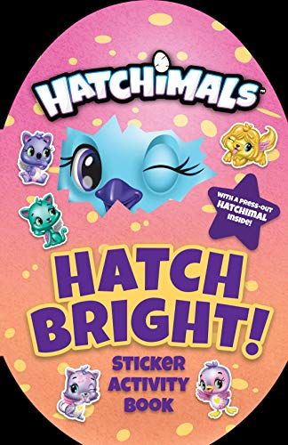 Hatch Bright !: Sticker Activity Book (Hatchimals)