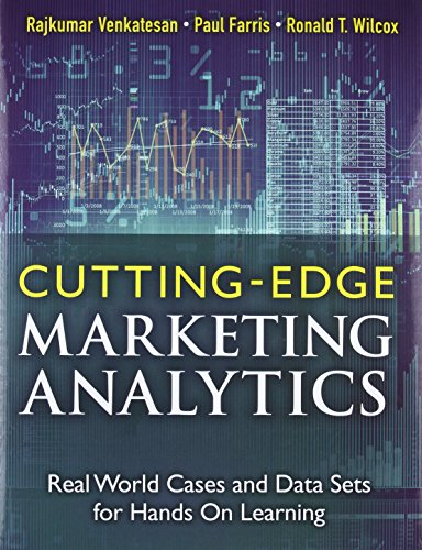 Cutting Edge Marketing Analytics: Real World Cases and Data Sets for Hands On Learning (FT Press Analytics) por Rajkumar Venkatesan