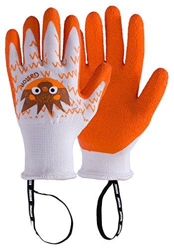 Rostaing gaston-it6–8Handschuh Kinder Igel. Wasserdicht Handfläche, Grip, Leash Handgelenk, orange, 24x 11,5x ()