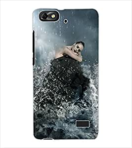 ColourCraft Love Birds Design Back Case Cover for HUAWEI G PLAY MINI