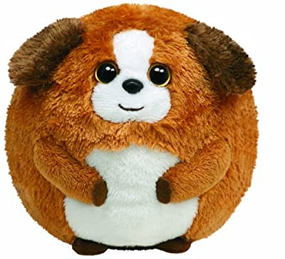 Ty 7138003 - Perro de peluche Bandit (12 cm, forma de bola), color marrón [importado de Alemania] de Ty