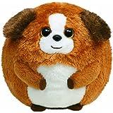 Ty 7138003 - Bandit Ball Hund, Stoffball Beanie Ballz, braun 12 cm