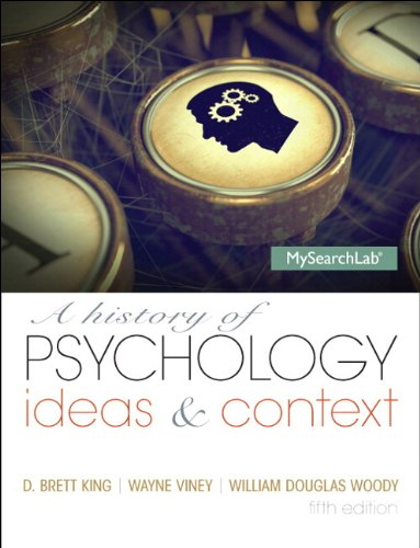 History of Psychology, A:Ideas & Context Plus NEW MySearchLab with    eText -- Access Card Package