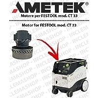 CT 33Motor aspiración ametek para aspiradora Festool