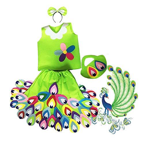 der Umweltleistung DIY Handgemachte Material Kleidung (Pfau) ()