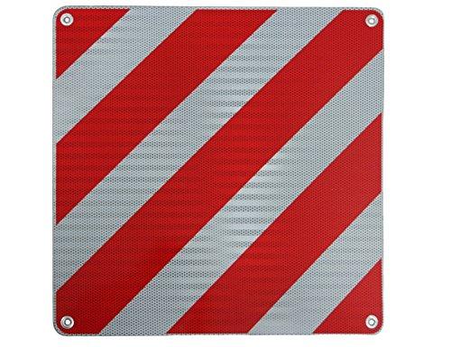 Preisvergleich Produktbild Warntafel für Überlänge Italien, Aluminium, 500 mm x 500 mm