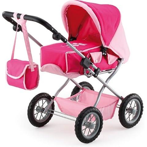 Bayer Design - Cochecito para muñecas Combi Grande, color rosa (15060)