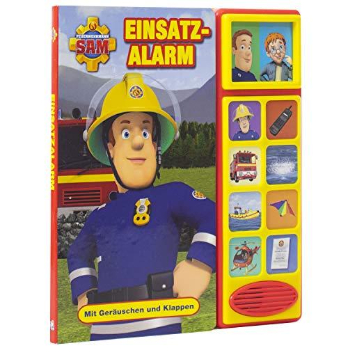 Feuerwehrmann Sam - Einsatzalarm - Klappen-Geräusche-Buch für Kinder ab 3 Jahren -