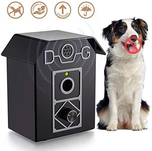 TONGS Anti Barking Gerät, Stop-Dog Bark-Abschreckungsmittel, Wasserdichtes