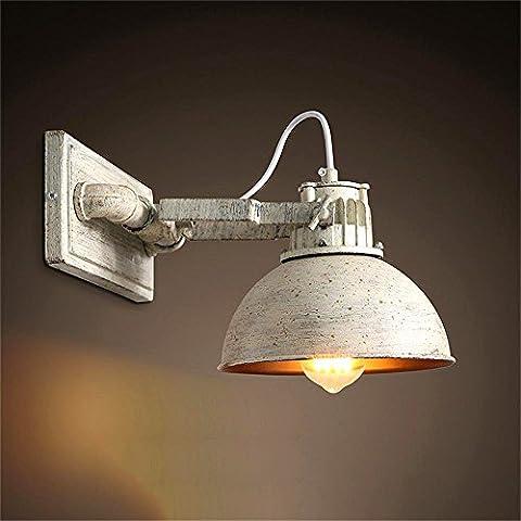 Industrie Stil Design Retro Eisen Schlafzimmer Bettseite Wandlampe Kreative verstellbare