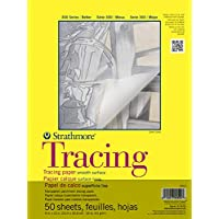 Pro-Art Strathmore Tracing Paper Pad 9-inch x 12-inch, 50 Sheets