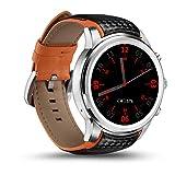 BDFA Smartwatch, Unterstützung Nano-Sim-Karte, Bluetooth/GPS / Wifi, Pulsmesser, Schrittzähler, Kompatibel mit Ios und Android, Google Assistant