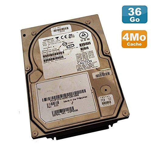 Hitachi Festplatte 36Go Ultra SCSI 320 3.5