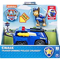 ‏‪Paw Patrol, Chase's Transforming Police Cruiser with Flip-Open Megaphone, For Ages 3 & Up‬‏