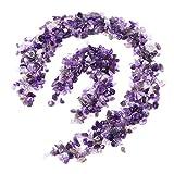 Kies für Aquarium Dekoration oder Teich Garten Dekoration (violett)