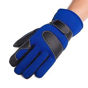 Unbekannt XIAOYAN Handschuhe Sporthandschuhe Fahrradhandschuhe Fahrradhandschuhe Warm Halten Winddicht Anti-rutschvoll Vollfinger HandschuheRadfahren Handschuhe/Fahrrad Bequem