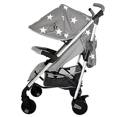 My Babiie Billie Faiers MB51 Grey Stars Stroller  Festnight