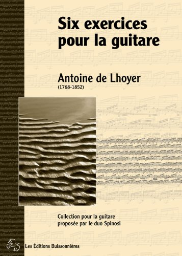 Six Exercices pour la Guitare, Opus 27
