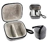 ToDIDAF Custodia Antiurto Custodia Rigida Antiurto per Google Home Mini Smart Speaker - Facile da Trasportare 12.5x11x10CM - Progettato con Tasca a Rete