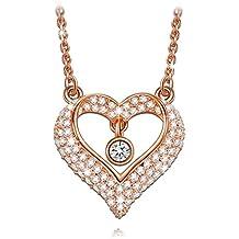 """LADY COLOUR - Amor Cinta - Collar mujer con cristales de SWAROVSKI® - la coleccion """"A Little Romance"""""""
