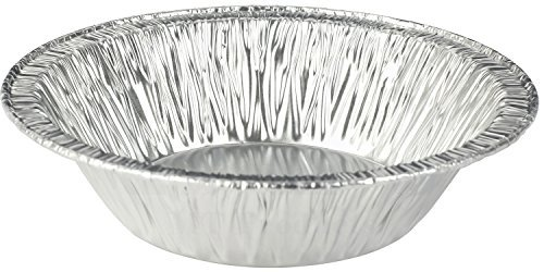 MT Produkte 12,7cm Einweg Aluminium Folie Tart/Pie Pfanne 11/10,2cm Tief-(50Stück) Aluminium Pie Pan
