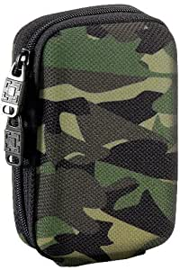 Pataco DCEVA-1CA Point & Shoot Digital Protection Case Universal-Kameratasche (Hartschale) camouflage