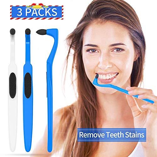 Zahnsteinentferner Zahnsteinentfernung Professionelle Zahnreinigung - Zahnaufhellung Zahnstein Entfernung Teeth Stain Remover, Effektive Zahnarztbesteck Teeth Whitening Zahnpolierer, 3er Pack
