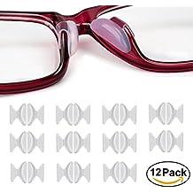 Almohadillas De Nariz De Silicona, 12 Pares De Lentes De Gafas De Gafas De 2.5