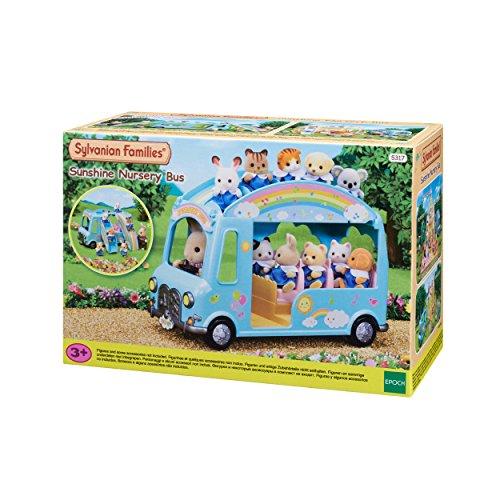 Sylvanian Families 5317 Sunshine Nursery Bus, Mehrfarbig