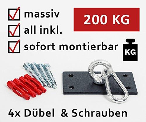 KTC Tec Profi Boxsackhalterung Deckenhalterung Halterung Boxsack Boxsackhalter Halter B1