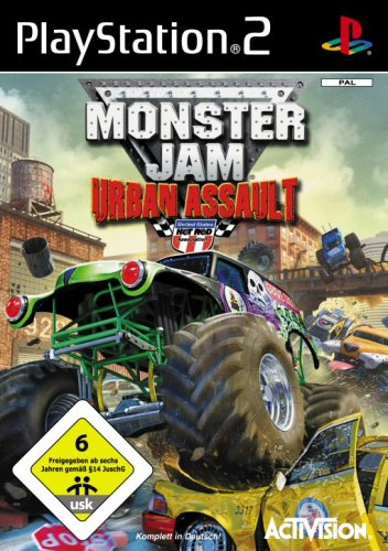 Monster Jam: Urban Assault - Jam Spiele Monster