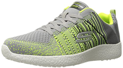 Skechers-Burst-In-the-Mix-Zapatillas-De-Deporte-Interior-para-Hombre