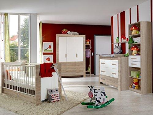 Babyzimmer Emily (Babyzimmer Emily 6-teilig, Weiß) - Emily Baby Möbel