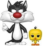 Funko - Pop Looney Tunes Sylvester et Tweety Figurine, 21975, Multicolore, Standard