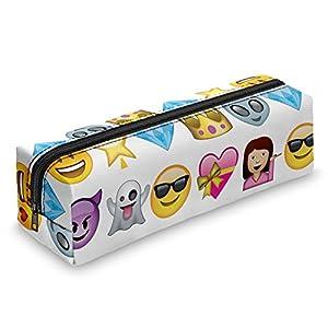 Emoji Smileys Trousse Scolaire étui Trousse Trousse à crayons Trousse Maquillage école Pinceaux Boîte