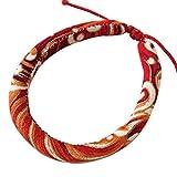 gaeruite Hundehalsband, Haustier Hund Katze Halsbänder mit Glocke, Niedliche Haustier Bell Katze Halsband, Japanische Art Handmade Haustier Hund Katze Halsband Halskette