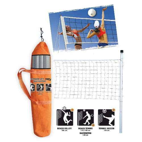 SPORT ONE Set de Voleyball + Red Outdoor Multisport