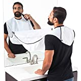 #10: House of Quirk Beard Apron Hair Catcher for Quick Disposal of Facial Hair Mess - White