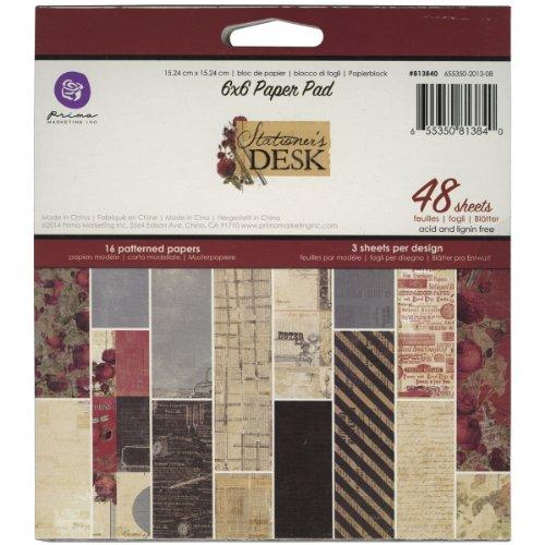 Best Prima Marketing Paper Pad 6-inch x 6-inch 4-Stationer's Desk
