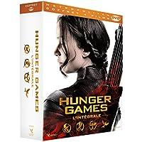 Coffret intégrale hunger games 4 films : hunger games ; l'embrasement ; la révolte, vol. 1 et 2