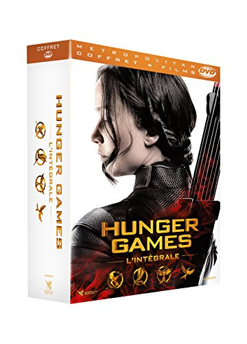 Hunger Games - L'intégrale : Hunger Games + Hunger Games 2 : L'embrasement + Hunger Games - La Révolte : Partie 1 + Partie 2