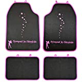 Best Car Mats - 4 Piece Powered by Fairydust Front Rear Car Review