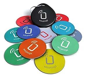 Tags NFC - NTAG216 Chip - 10 Pack + Porte-Clés + en prime un Tag gratuit - Android inscriptible et programmable - autocollant adhésif - Samsung Galaxy S6 S6 S4 Note 4 - HTC One -First One X Droid DNA - Sony Xperia - Nexus - Smart Tags - Meilleurs-argent - Garantie de retour!