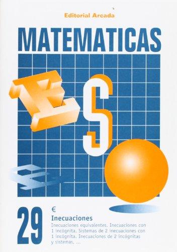 Cuaderno Matematicas 29 - Inecuaciones (Eso Matematicas)