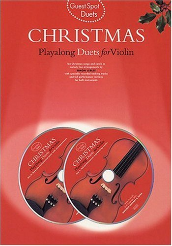 Guest Spot: Christmas Playalong Duets For Violin por Divers Auteurs