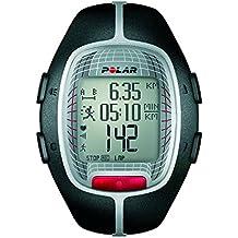 Polar RS300X - Reloj de entrenamiento con funciones de cronómetro y frecuencia cardíaca, color negro
