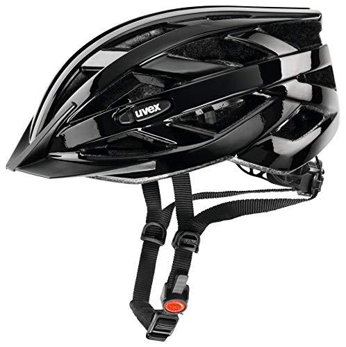 Uvex Unisex Erwachsene Fahrradhelm I-Vo, Schwarz, 52-57 cm