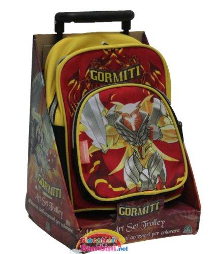 giochi preziosi 09841 giochi preziosi 09841 backpack mini trolley gormiti colours